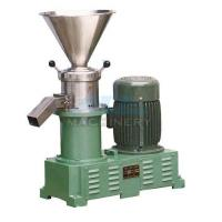 China Sanitary food grinding machine stainless steel colloid mill peanut butter sesame paste colloid mill wholesale