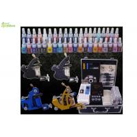 China Portable Complete Color Ink Professional Tattoo Kits For Line And Shading wholesale