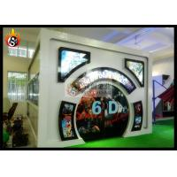 China 5.1 Channel Audio 6D Movie Theater with Cabin wholesale