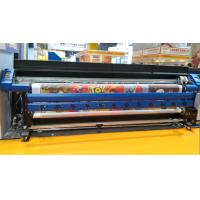 Quality 3.2M Epson Eco Solvent printer with 3 DX7 for high speed printing in flex banner for sale