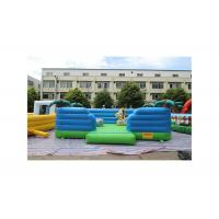 China 0.55mm PVC Hawaii Bouncer Coconut Tree Tropical Style Inflatable Jumping Castle on sale