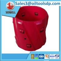 Buy cheap API spiral blade rigid centralizer with wheels for sale from wholesalers