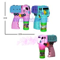 China Outside Giant  Plastic Light Up Bubble Blaster For Wedding Truck Shaped on sale