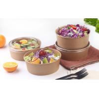China 22oz 24oz Disposable Soup Bowls For Takeaway Foods With Eco - Freindly Ink wholesale