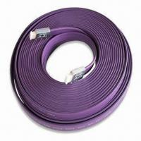 China Flat Hi-Fi HDMI Cable, Available in Purple, Measures 4.5 x 18mm wholesale