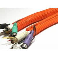 Buy cheap Open Type Self Wrapping Split Braided Sleeving For Auto Wire Harness Cover from wholesalers