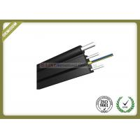 China 12 Core FTTH Fiber Optic Cable / Outdoor Fiber Drop Cable For Transmission wholesale