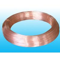 China Round Refrigeration Copper Tube / Plating Copper Coated Tube 6 * 0.5 mm wholesale