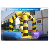 China Hitting Ball Game Field Inflatable Boxing Bouncer Jumping Inflatable Sports Games on sale