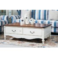 China Modern Style Living Room Ash Veneer Coffee Table Eco - Friendly Material on sale