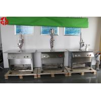 China Stainless Steel Semi Automatic Aerosol Filling Machine for Leather Spray Can Filling wholesale