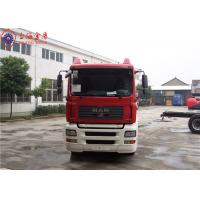 China Sinotruk HOWO MAN Chassis Water Tanker Fire Truck 265kw With Total Side Girder wholesale