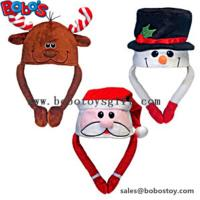 Buy cheap Soft Plush Warm Winter Cap Animal Party Hat Christmas Hat from wholesalers