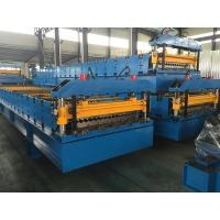 China Wall Panel / Roof Panel Roll Forming Machine 380V 50Hz 3 Phases Computer Control wholesale
