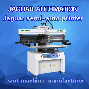 China Cheap price SMT semi auto solder paste printer manufacturer for LED wholesale