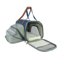 China Soft Sided Pet Carrier Handbag , Eco Friendly Breathable Pet Travel Bags on sale