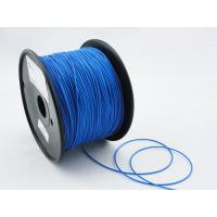 Quality Professional Blue Flexible 1.75mm 3D Printing Material Filament With Printing for sale