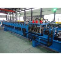China Double Line Racking Roll Forming Machine / c Purlin Pre Punching System wholesale