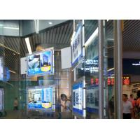 Quality Shop Window Ultra Slim Acylic Crystal LED Light Box For Portrait View Wall Mounted for sale