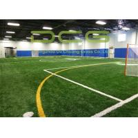 Buy cheap PE 50mm Artificial Grass For Football Field With PP + Net + SBR Latex Backing from wholesalers