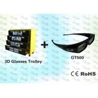 China OEM 3D Package Black Stereo 3D Glasses with Trolley wholesale
