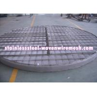 China Alloy Wire Meshmist Eliminator Filter Demister Pads With Frame Anti - Corrosion wholesale