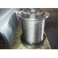 China High Strength Crane Drum , Wire Rope Winch Drum For 22mm Diameter Cable wholesale