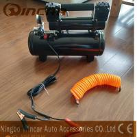 Buy cheap Double 30mm Cyclinder 12V Portable Air Compressor 8 Bar Max Pressure from wholesalers