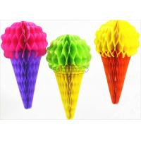 Buy cheap Baby Party Decoration Kids Paper Lanterns 40cm Ice Cream Honeycomb from wholesalers