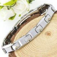China Silver Tungsten Full Magnets Fashion Bracelets for Unique Gift,bio health jewelry wholesale