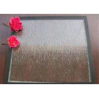 China Clear Bronze Mistlite Patterned Glass Sheets , Textured Patterned Glass For Decoration wholesale