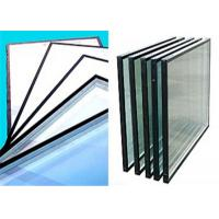 China Flat Shape Low Emissivity Glass , 4mm - 12mm Thickness Low E Tinted Glass wholesale