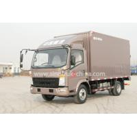 China 4x2 Euroii Howo 7000kg Refrigerated Box Truck With Yunnei Engine And 6 Triangle Tire wholesale