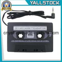 China Car Cassette Tape Adapter for iPod MP3 iPhone -I2258 wholesale