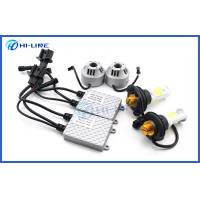 China Customized CREE chip Car LED Head Lamp DC12V -24V 6400lm High Low Beam H13 on sale