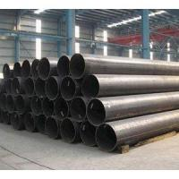 China ASTM A53 Grade B ERW Pipe , ERW Black Steel Pipe For Petrolum / Natural Gas wholesale