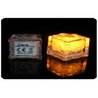 China 2.8cm Water Or Liquid Activated Led Light Ice Cubes With AG3 Cell Battery wholesale