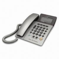 Buy cheap Caller ID Phone, Can Record 62 Incoming Calls and 16 Outgoing Calls from wholesalers