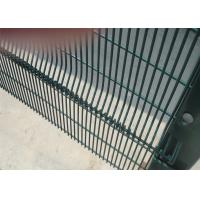 358 mesh Fence High-Security Clearvu Fencing, Anti Cut, Climb Available V beams,