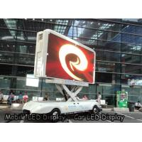 China P4 outdoor Car LED Sign Display Density 62500 , SMD High Brightness Led Screen Waterproof wholesale