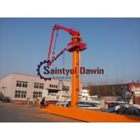 China 29m 32m 33m Column Tower hydraulic Self-Climbing Jack-up Concrete Placing Boom with 22.7m Column wholesale