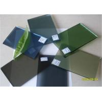 China 5 Mm Thickness Dark Green Tinted Glass / Floating Glass Panel For Construction wholesale