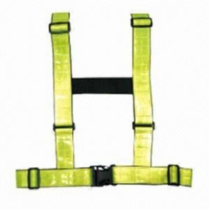 China Adjustable Reflective Vest, Measures 8.7x6x25mm wholesale