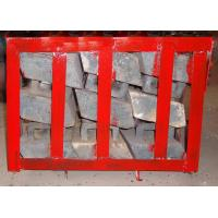 China Chromium Molybdenum Steel Concaves Of Ball Mill Lining Packed in Pallets wholesale