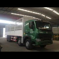 China 12 Wheelers Small Cargo Truck / Commercial Cargo Truck 30 - 40 Ton Loading Capacity wholesale