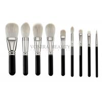 China Exclusive Luxury Softest Makeup Brushes  Private Label Silver Copper Ferrule wholesale