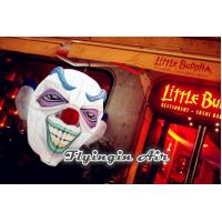 China Customized Terror Face, Horror Smile, Inflatable Skull for Halloween Supplies on sale