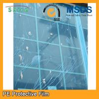 China Self Adhesive Glass Protective Film For Glass Windows Hot Temperature Endurable wholesale