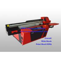 China Commercial Multicolor Flatbed Wood UV Printer With Ricoh Industrial Print Head wholesale
