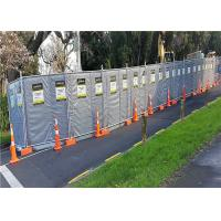 China Mobile Noise Barriers 30dB Construction Insulated and Absorption 4'x12' blanket size wholesale